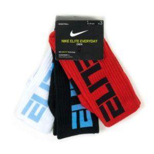 Nike Unisex Elite Everyday Crew Socks
